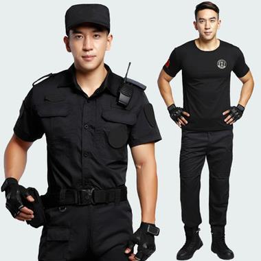 保安短袖衬衣