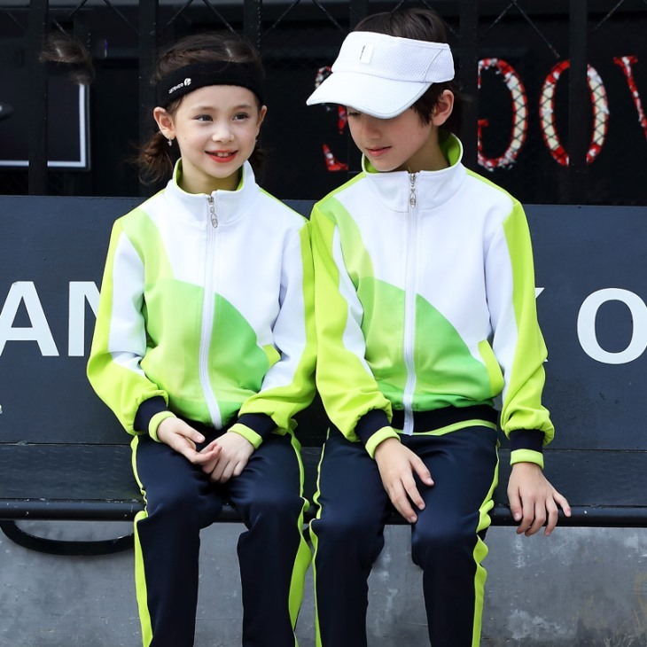 童装校服2018秋季新款小学班服幼儿园园服男女中大童运动套装